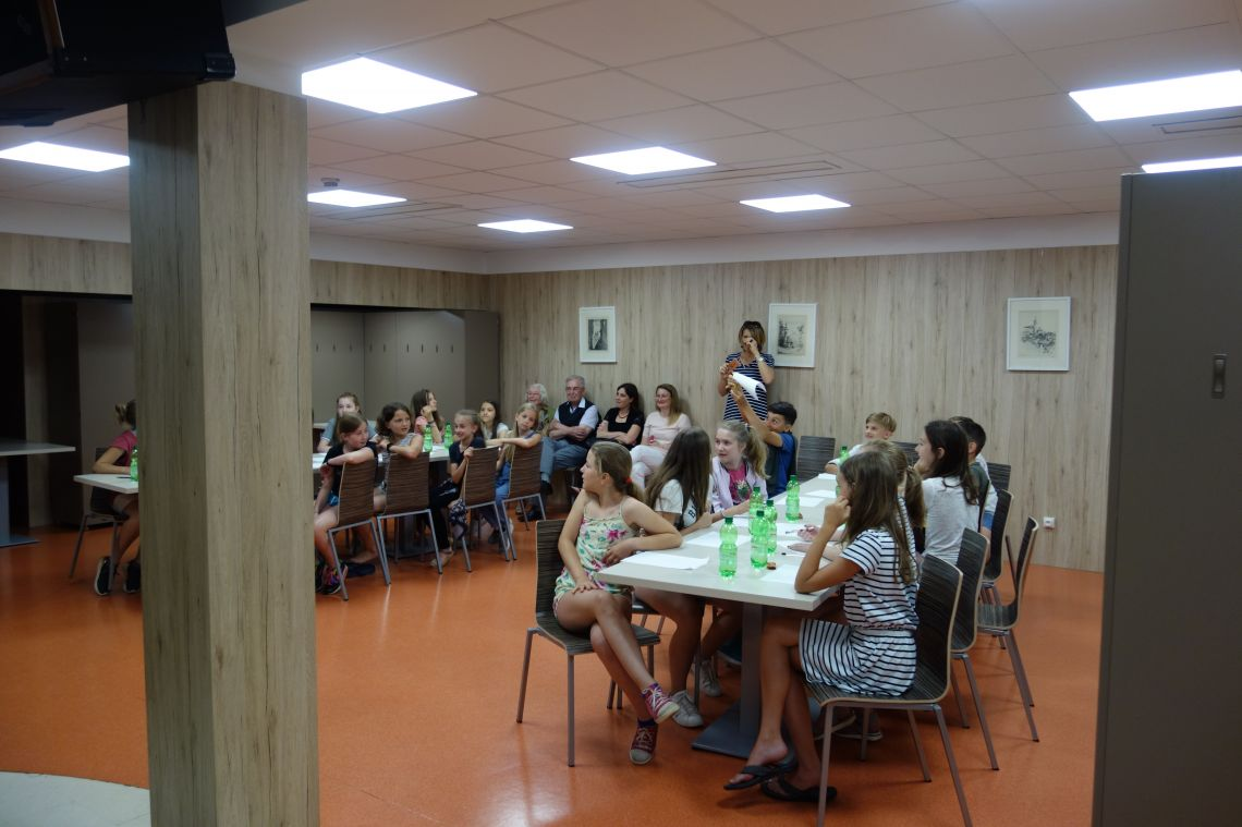 Značkarji iz 1. Kugyjevega razreda - Leserinnen und Leser aus der 1. Kugyklasse