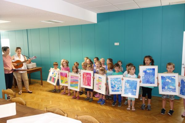 Otvoritev razstave likovnih del otrok iz vrtca Sonce (5. del)
