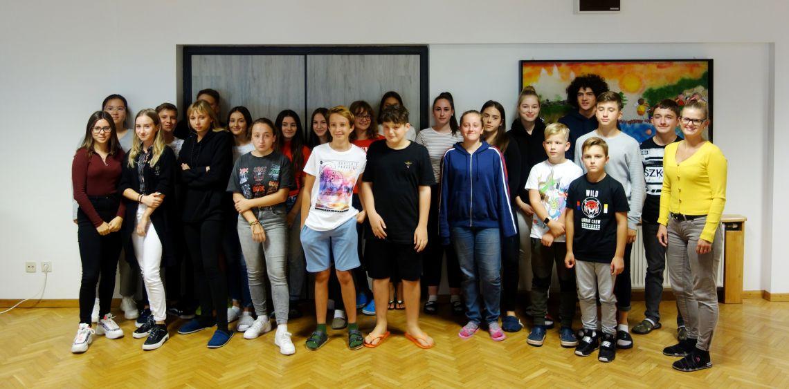 Dijakinje in dijaki 4. skupine (vzgojiteljica Lunder Ana)