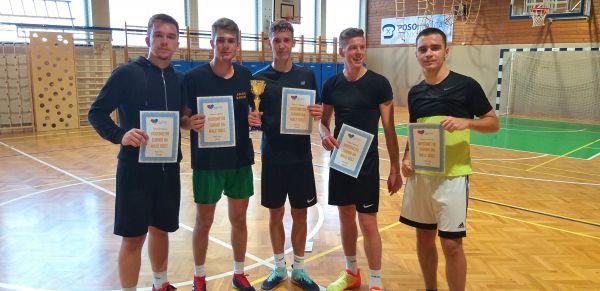 z leve/von links: ŠKRGIĆ Nermin, POLOVŠAK Miha, ODER Aleksander, DEDIĆ Aid, MECAVICA Adem