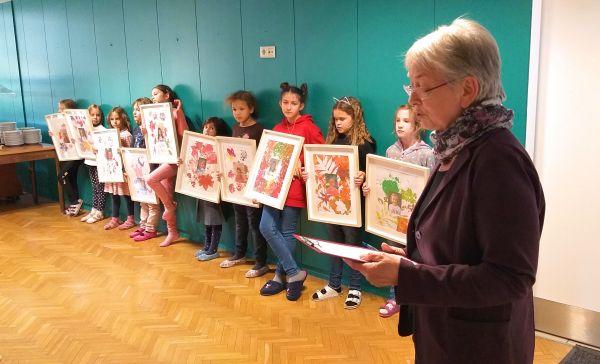 Otvoritev razstave likovnih del otrok iz Varstva ABCČ (1. del)