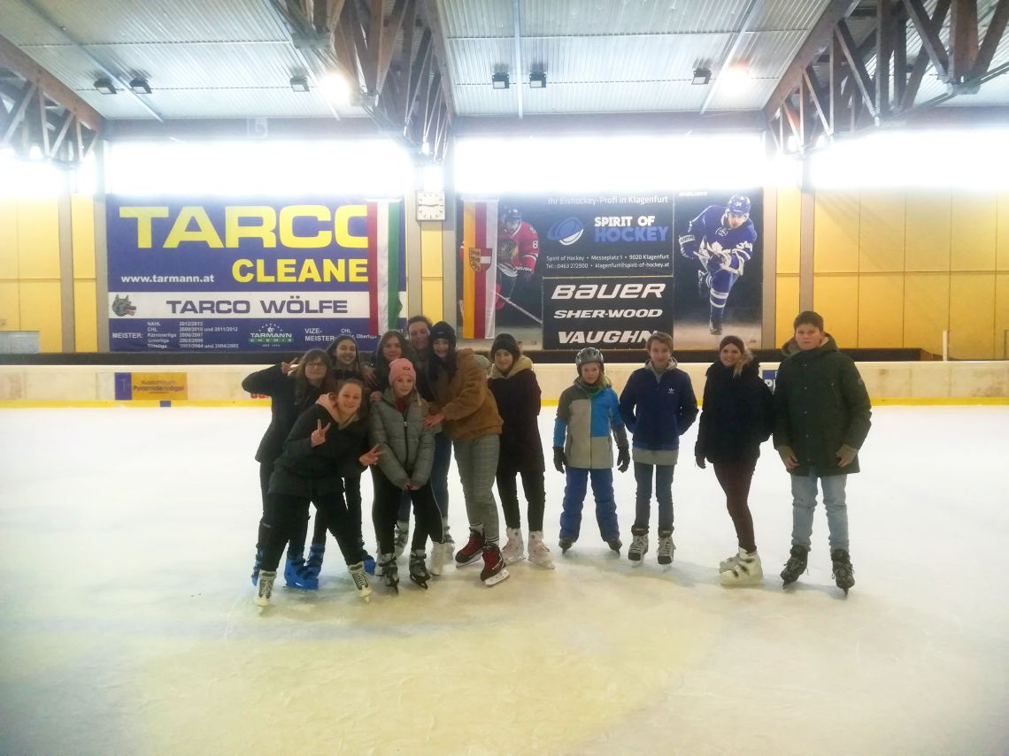 Drsanje v dvorani - Eissportzentrum