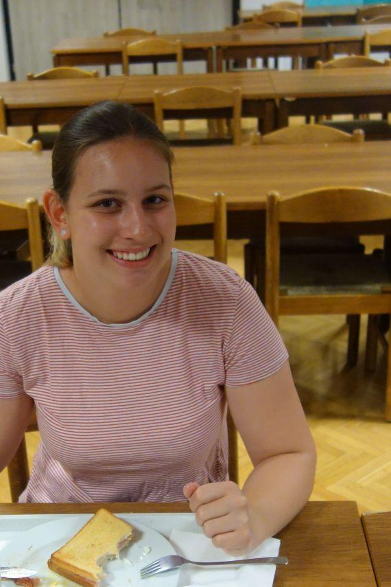 Christina Miklau (maturantka-maturantin: ZG/ZRG za Slovence-BG/BRG für Slowenen)