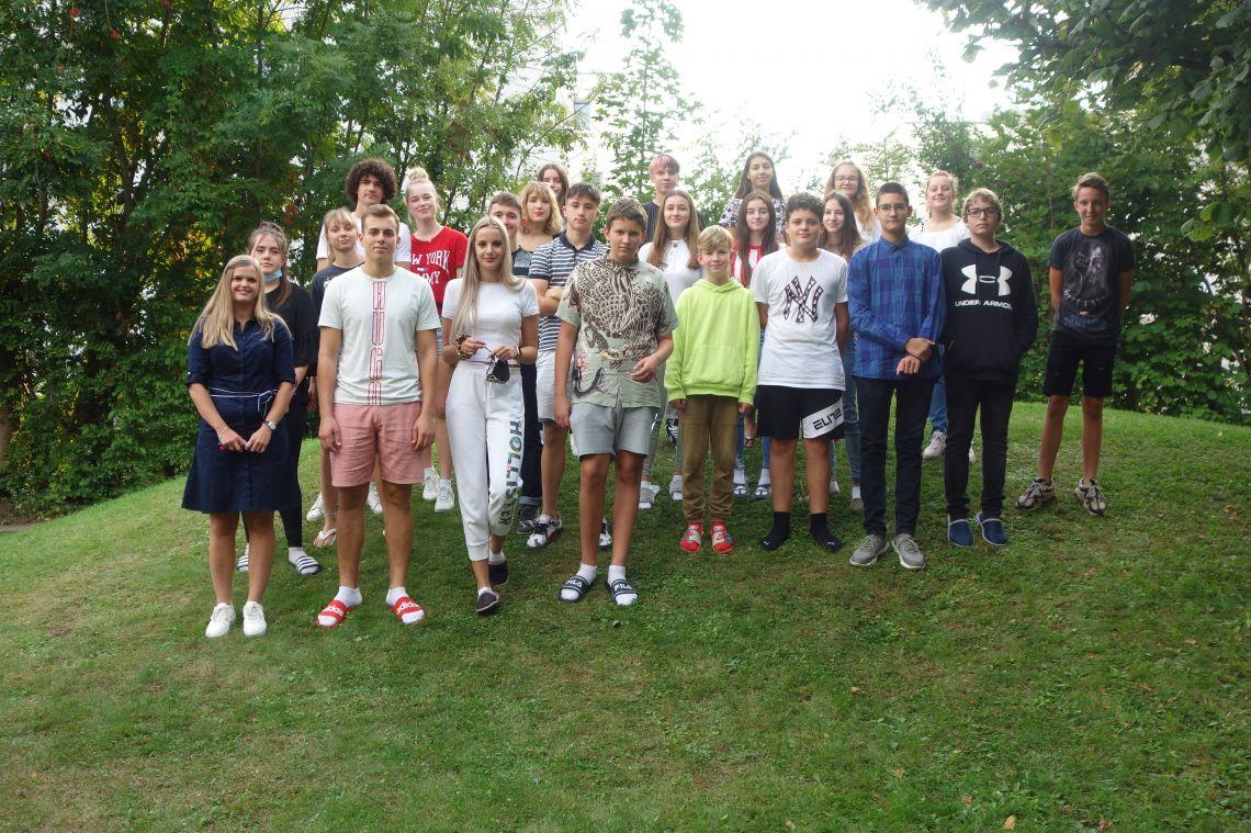 4. skupina/Gruppe - vzgojiteljica/Erzieherin Lunder Horvat Ana