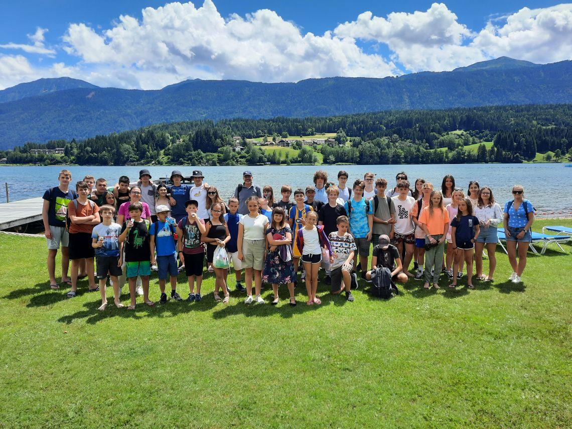 Domski izlet v koroški park doživetij ob Preseškem jezeru