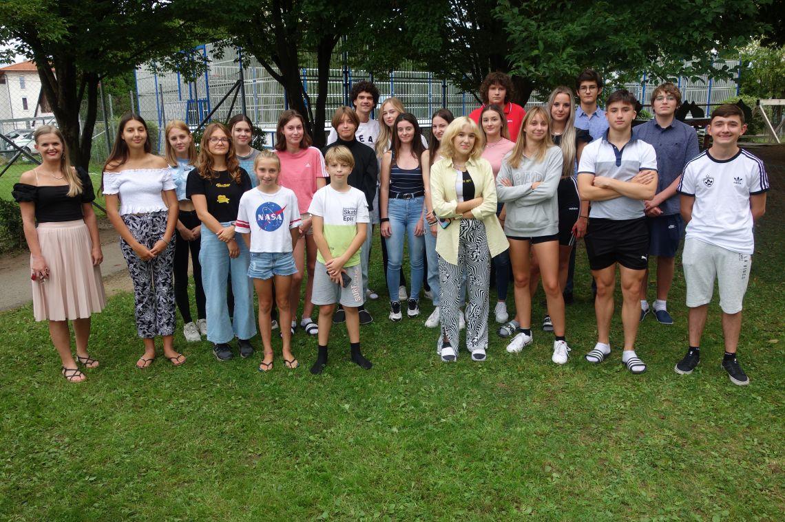 4. skupina/Gruppe: vzgojiteljica/Erzieherin Lunder Horvat Ana