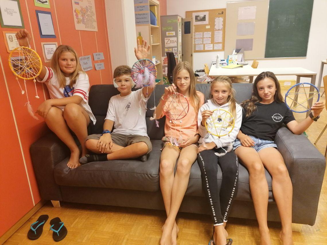 Prvi teden v Mladinskem domu