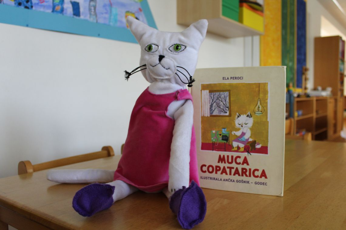 Muca Copatarica - die Figur für die slowenische Sprache