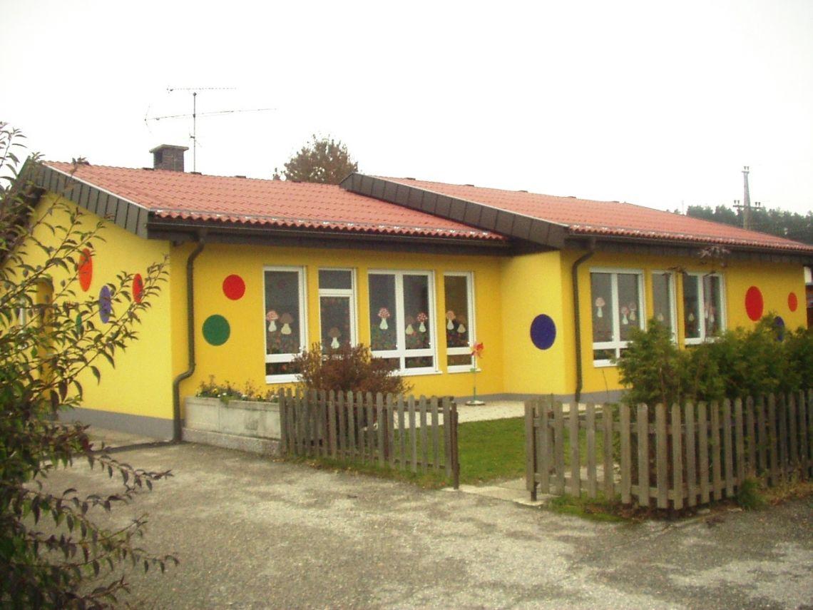 """Kindergarten """"Pika"""" mit neuer Fassade"""
