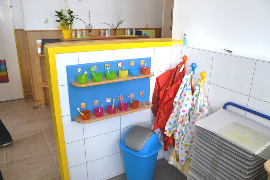 Renovierte sanitäre Einrichtungen