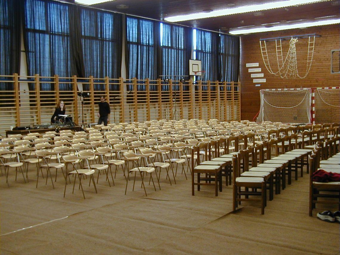 Turnsaal als Veranstaltungsraum