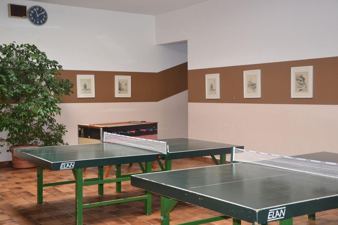 Foyer, Tischtennisraum