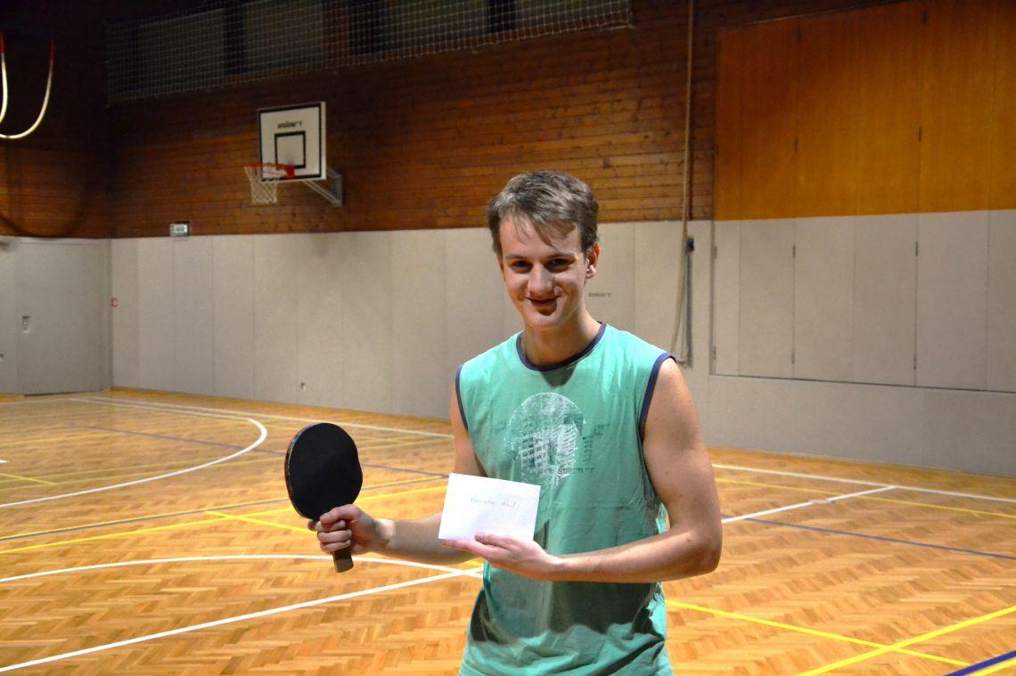 Zmagovalec/der Gewinner Jakob Košir