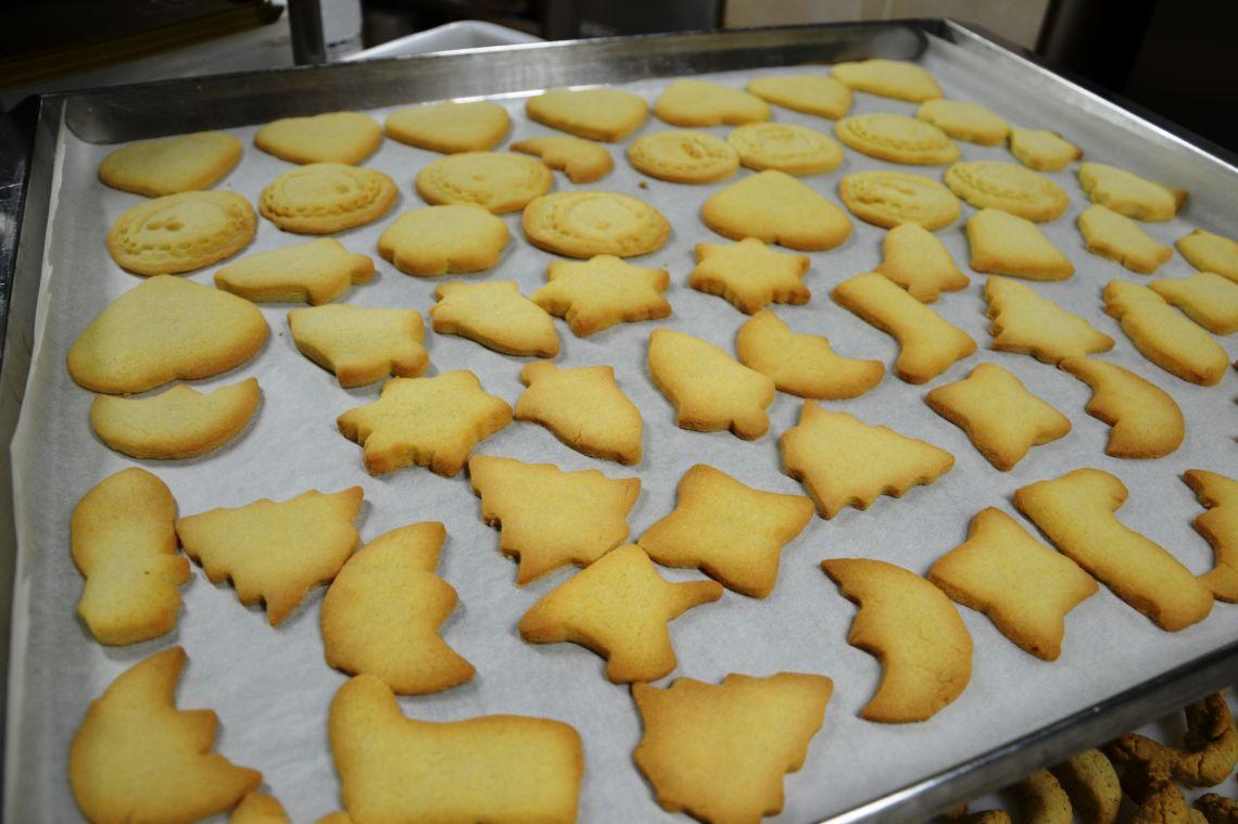 Peka božičnih keksev